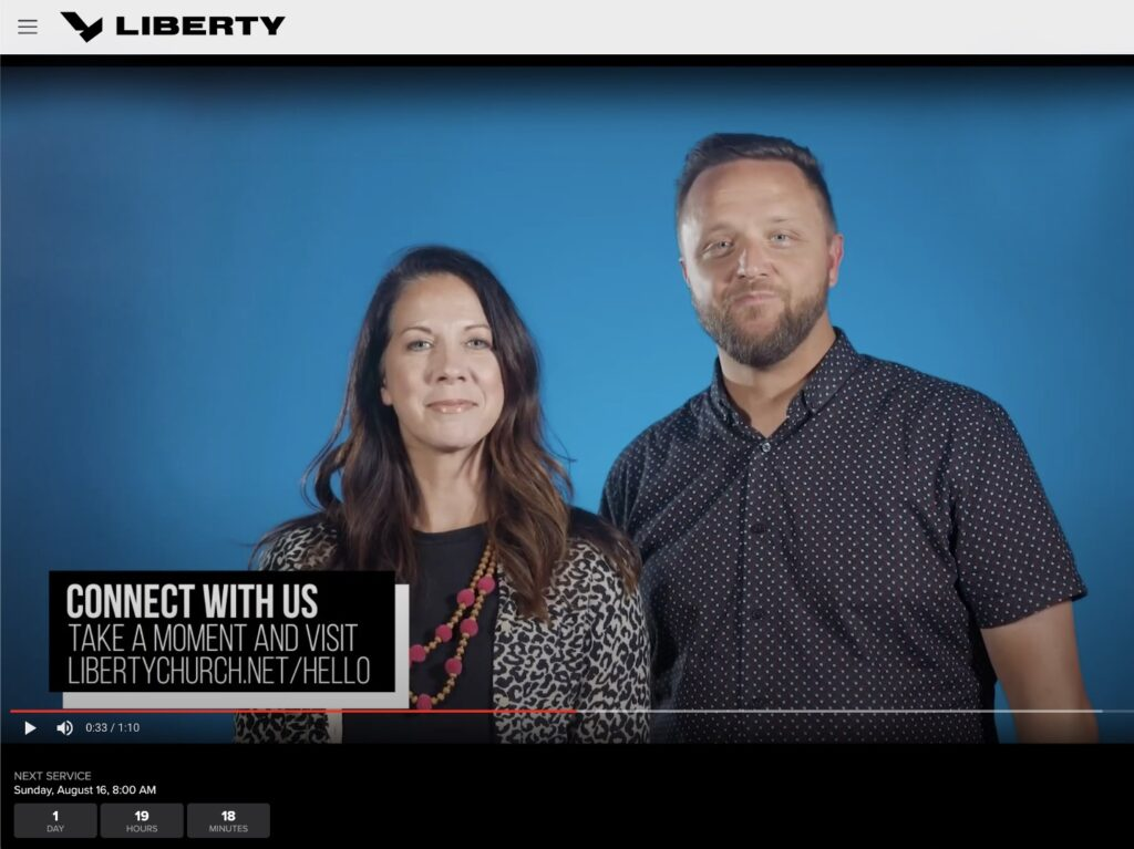 Liberty church Online Campus Preview